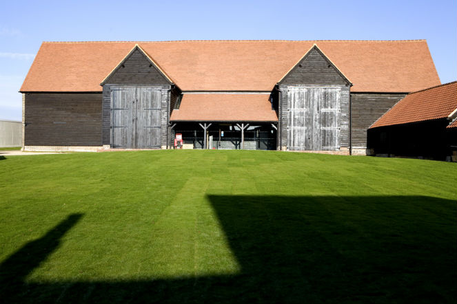 Photo: Hire our barns for your perfect wedding